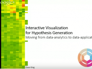 Interactive Visualization in Support of Hypothesis Generation