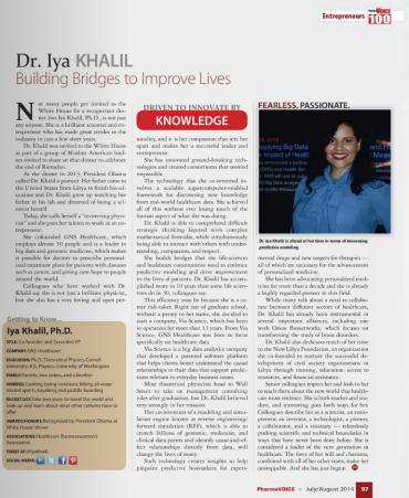 Dr. Iya Khalil - Building Bridges to Improve Lives