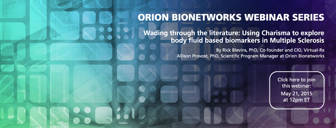 Orion Webinar Series