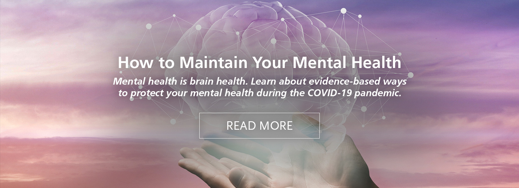 How to Maintain Your Mental Health During the COVID-19 Pandemic
