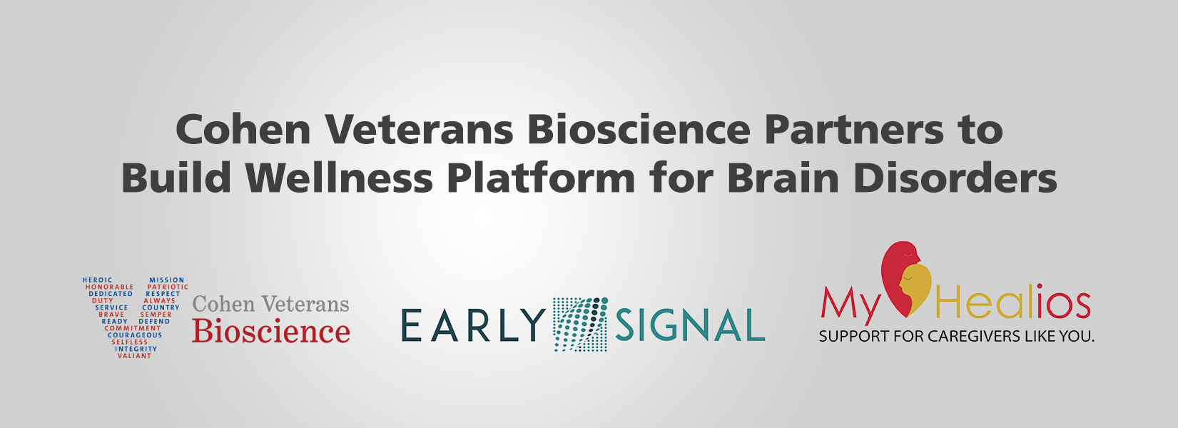 Cohen Veterans Bioscience Partners to Build Wellness Platform for Brain Disorders