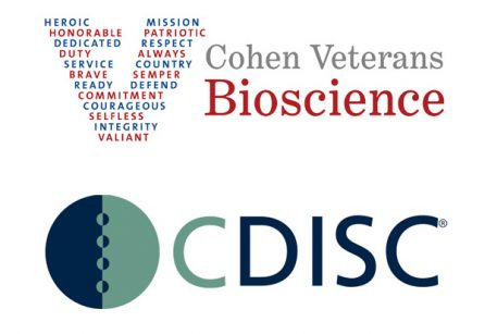 CDISC and Cohen Veterans Bioscience press release