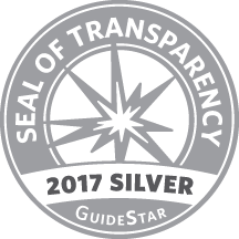 GuideStar 2017 Silver Seal of Transparency