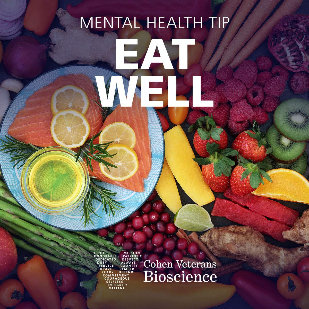 Mental Health Tip: Eat Well