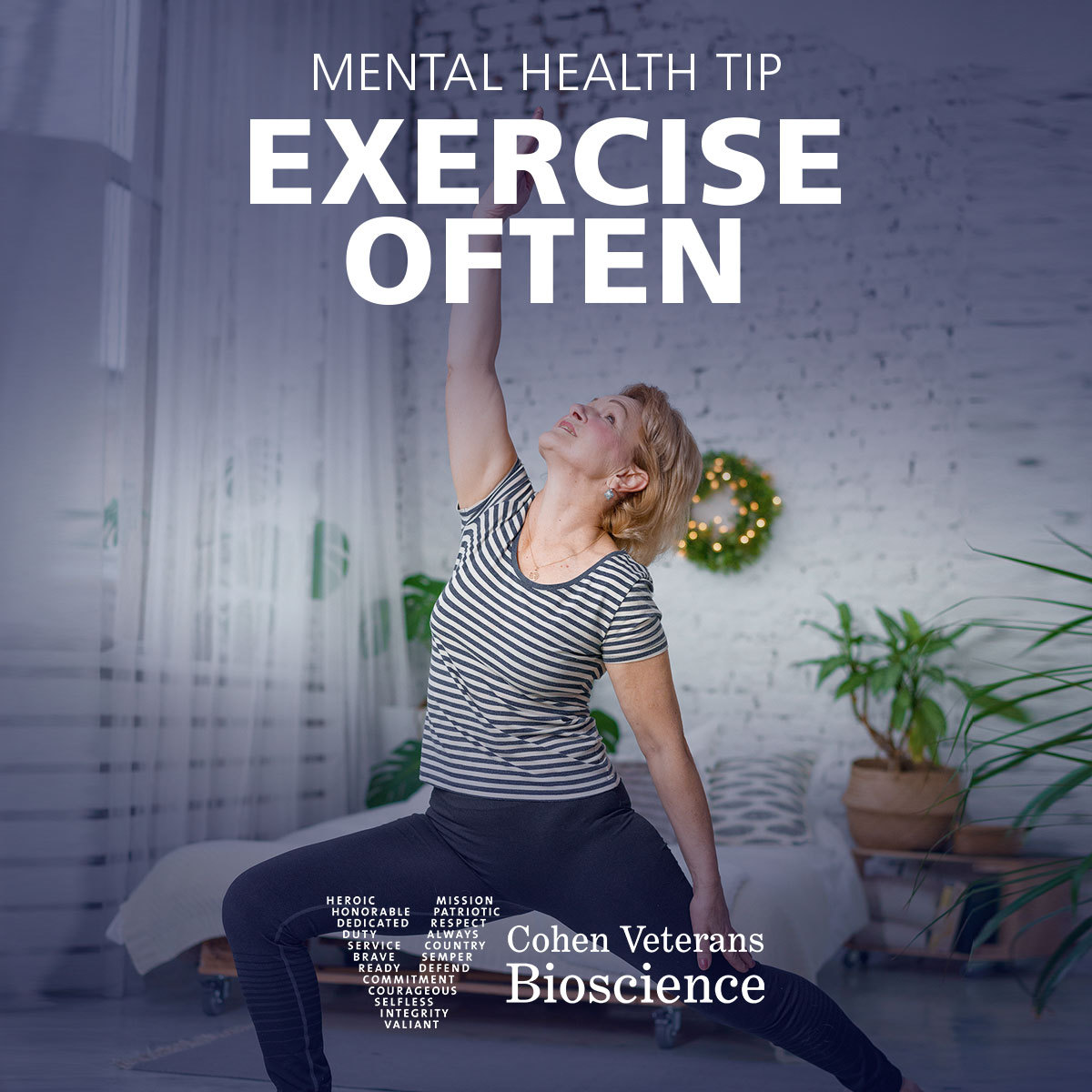 Mental Health Tip: Exercise Often