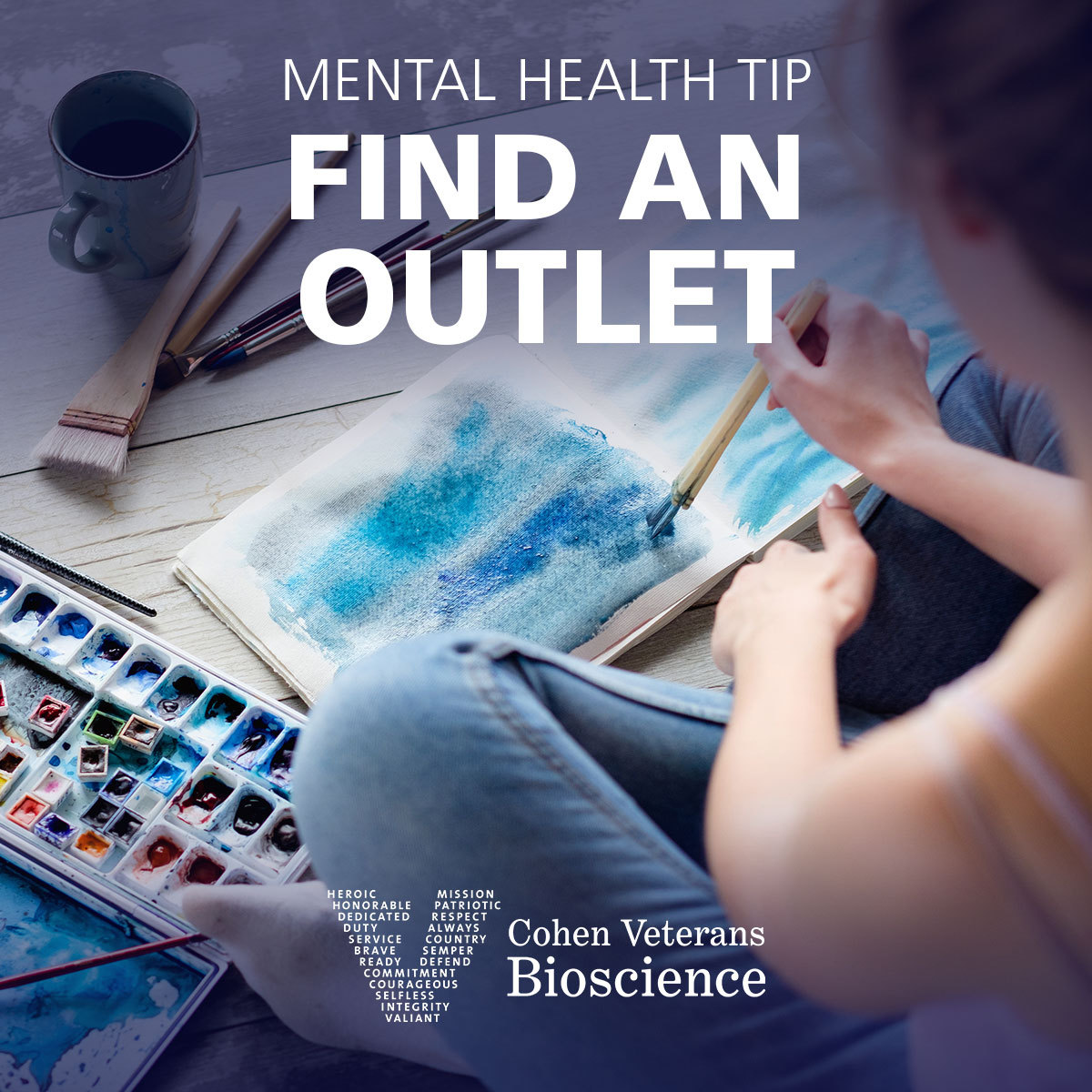 Mental Health Tip: Find an Outlet