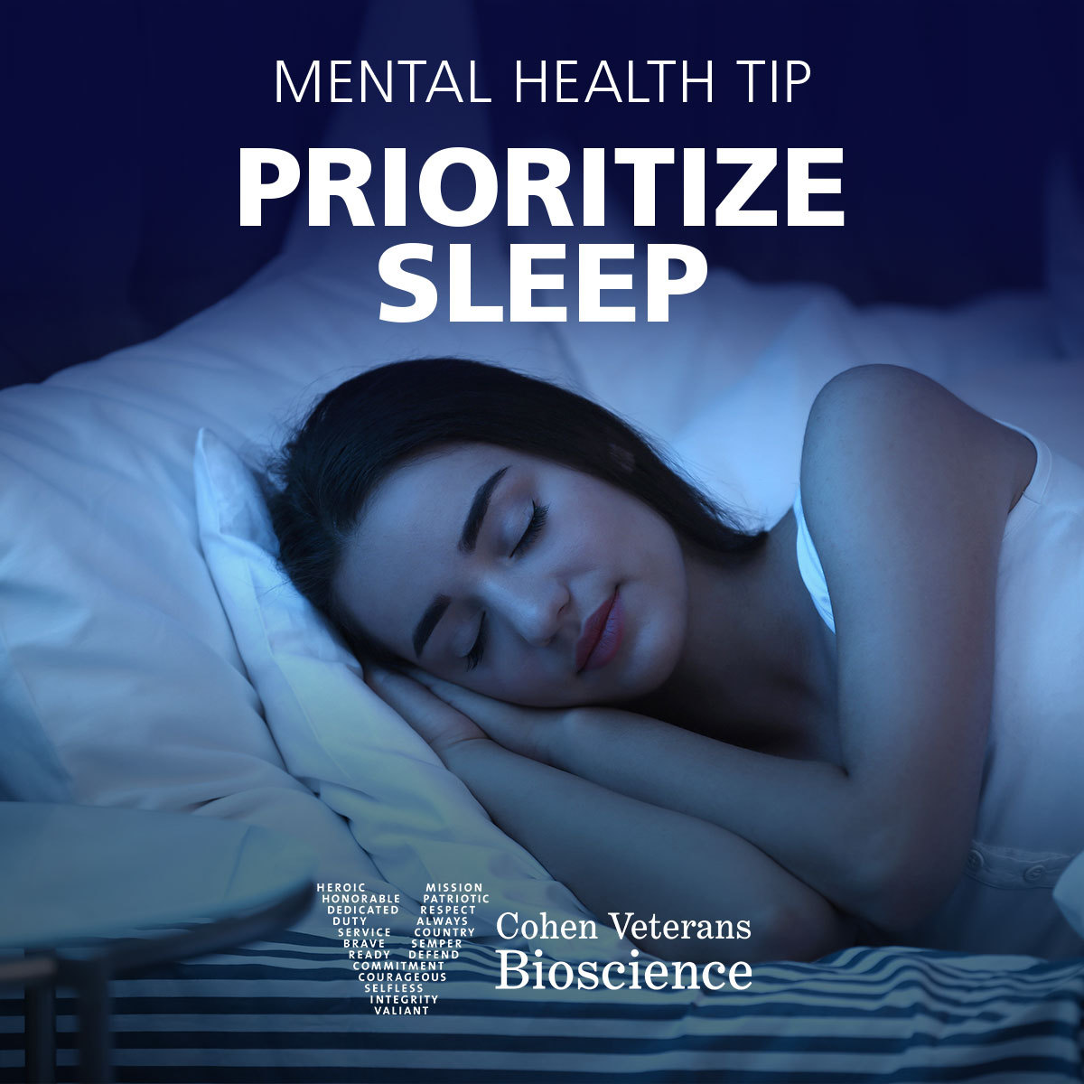 Mental Health Tip: Prioritize Sleep