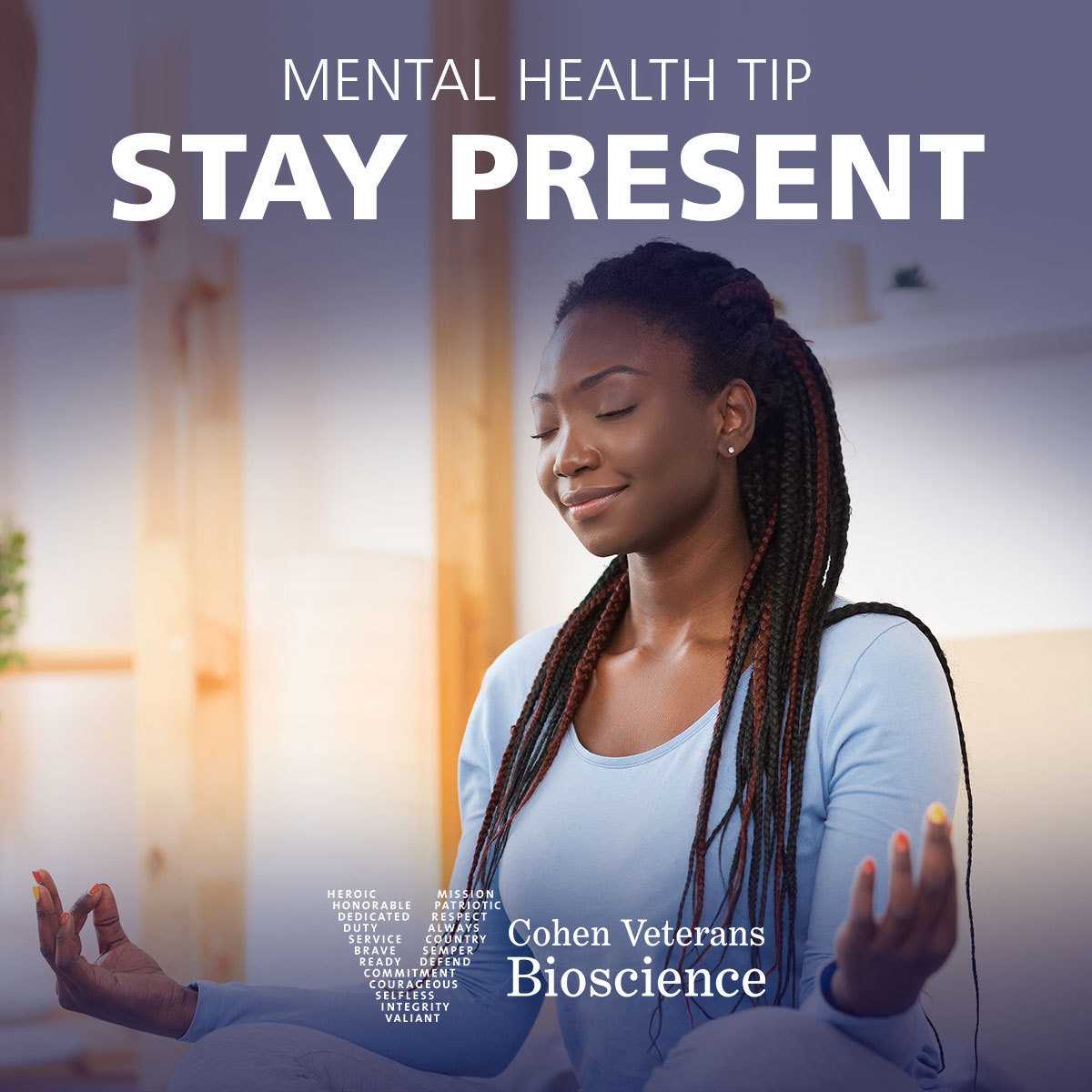 Mental Health Tip: Stay Present