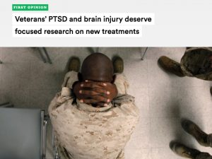Op-Ed: Veterans' PTSD and brain injury deserve focused research on new treatments