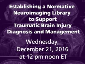 Establishing a Normative Neuroimaging Library to Support Traumatic Brain Injury Diagnosis and Management