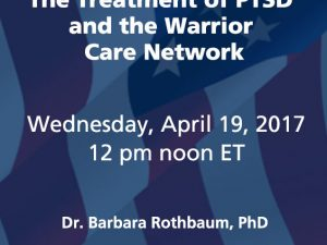 The Treatment of PTSD and the Warrior Care Network