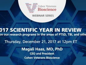 2017 Scientific Year in Review Webinar
