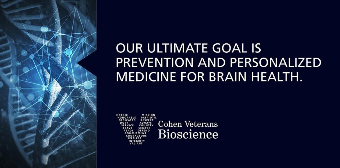 Our ultimate goal is prevention and personalized medicine for brain health