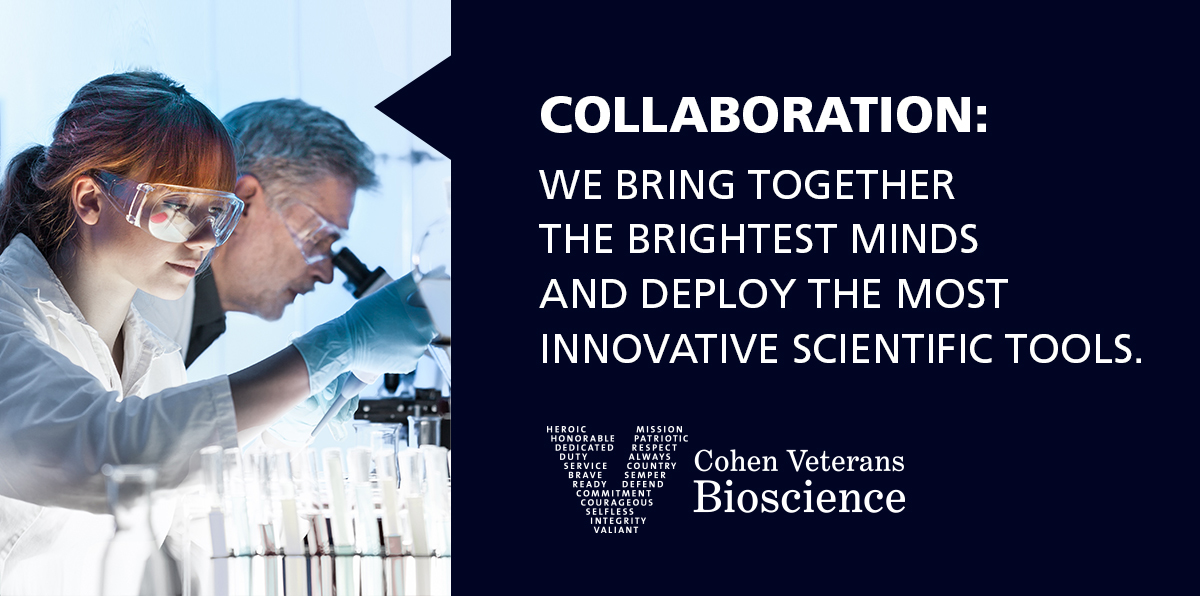 Cohen Veterans Bioscience - Our Approach