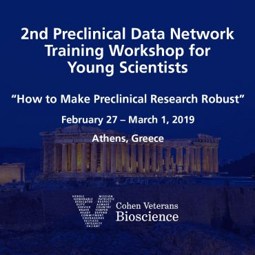 2nd Preclinical Data Network Training Workshop for Young Scientists
