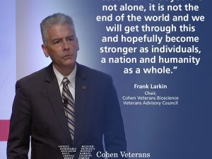 Thoughts on COVID-19 from Frank Larkin, Chair of the Veterans Advisory Council