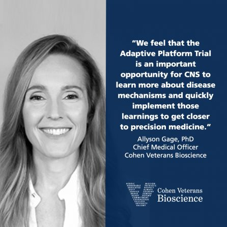 Quote from Dr. Allyson Gage on Adaptive Platform Trial Design