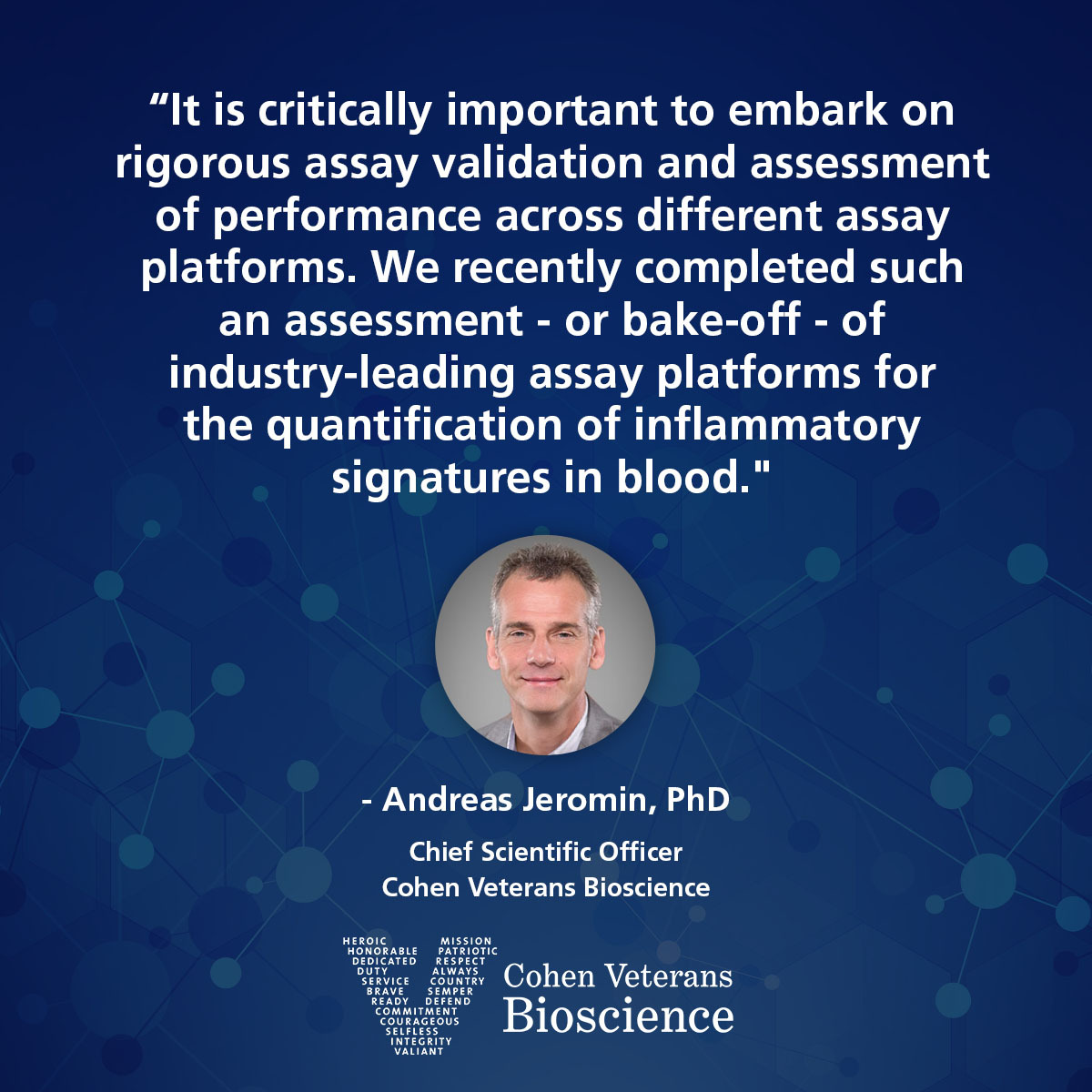 Quote from CSO Dr. Andreas Jeromin