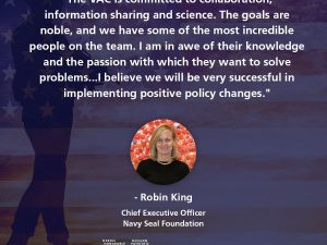 Q&A with Robin King, CEO of The Navy SEAL Foundation and member of the Veterans Advisory Council