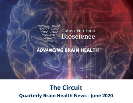 Quarterly Brain Health News from Cohen Veterans Bioscience