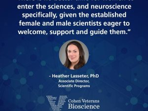 Women neuroscientists at Cohen Veterans Bioscience featured in Journal of Neuroscience Research
