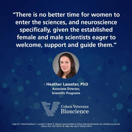 Quote from Dr. Heather Lasseter