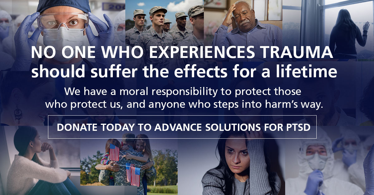 Donate to advance research for PTSD