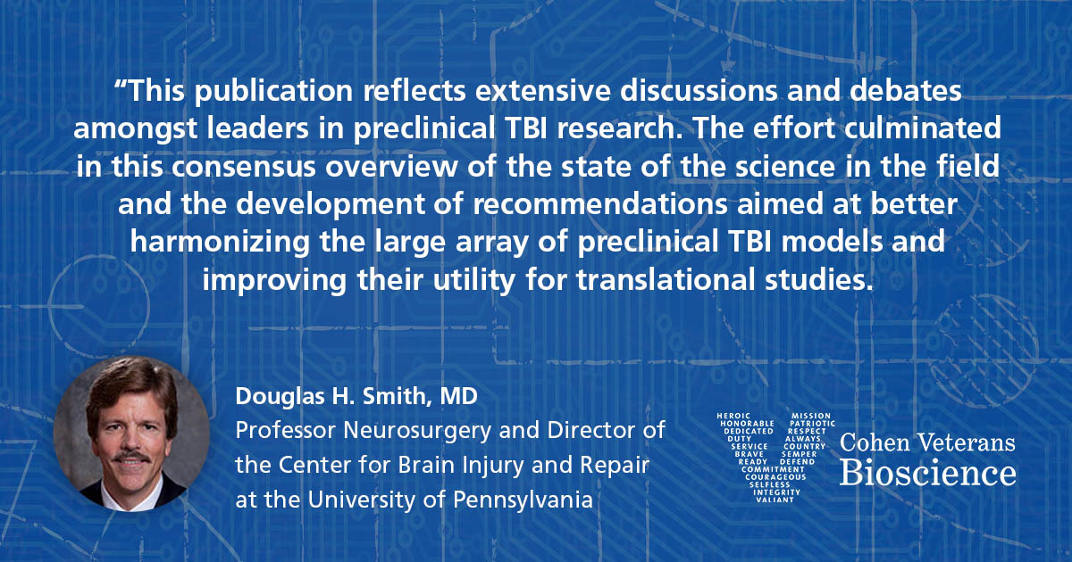 Quote from Douglas H. Smith, MD