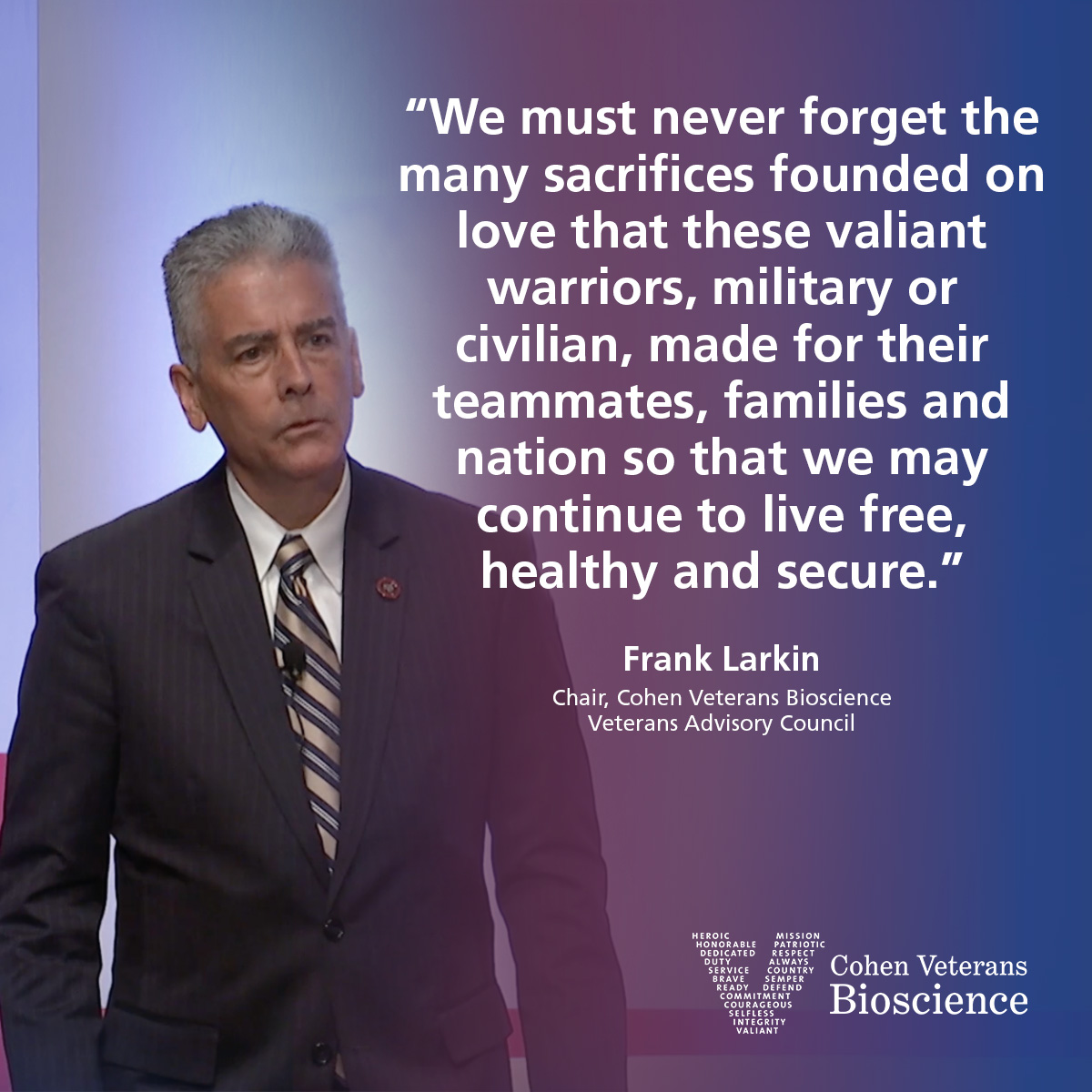 Quote from Frank Larkin