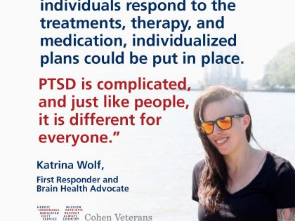 Q&A with Katrina Wolf, First Responder and Brain Health Advocate
